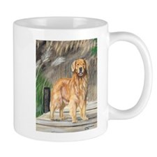 Golden Dock Dog Mug