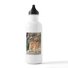 Golden Dock Dog Water Bottle