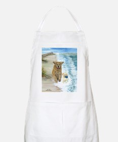 Golden Surf Dogs Apron