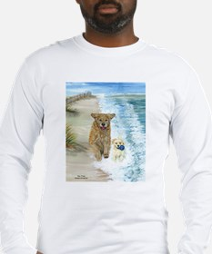 Golden Surf Dogs Long Sleeve T-Shirt