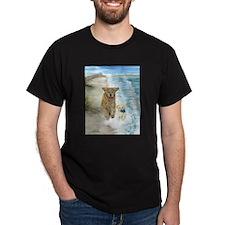 Golden Surf Dogs T-Shirt
