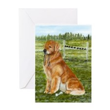 Golden Obedience Greeting Card