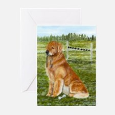 Golden Obedience Greeting Cards (Pk of 10)