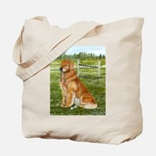 Golden Obedience Tote Bag
