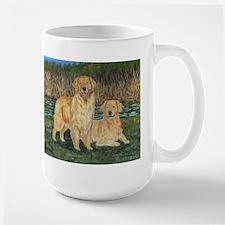 Golden Marsh Pair Mug