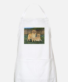 Golden Marsh Pair Apron