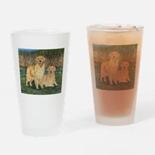 Golden Marsh Pair Drinking Glass