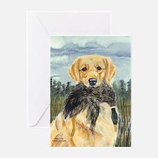 Golden Hunter Greeting Card