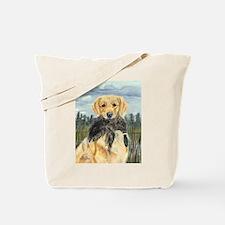 Golden Hunter Tote Bag