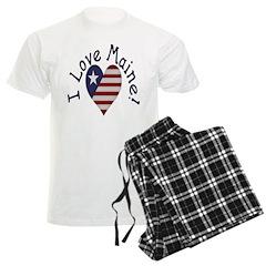 I Love Maine! Pajamas