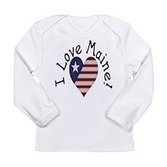 I Love Maine! Long Sleeve Infant T-Shirt