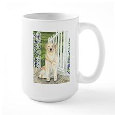 Golden Welcome Mug