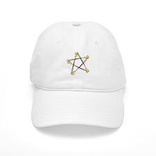 Besom Pentagram Baseball Cap