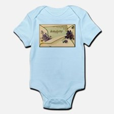 Birthday Greetings Infant Bodysuit