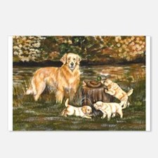 Golden Family Postcards (Package of 8)