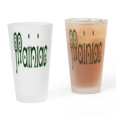 Mainiac Drinking Glass