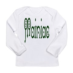 Mainiac Long Sleeve Infant T-Shirt