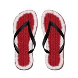 Knitting yarn Flip Flops
