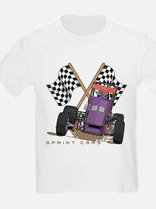 Sprint Cars Kids T-Shirt