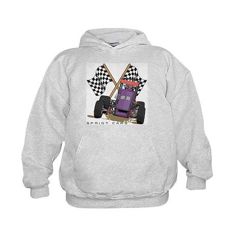 Sprint Cars Kids Hoodie