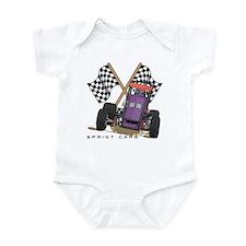 Sprint Cars Infant Creeper