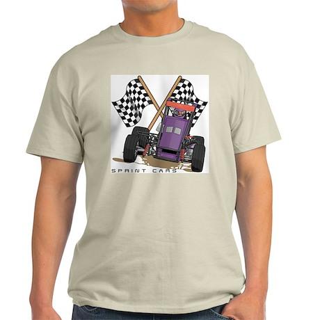 Sprint Cars Ash Grey T-Shirt