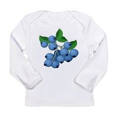 Blueberries Long Sleeve Infant T-Shirt