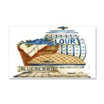 Blueberry Fixin's Car Magnet 20 x 12