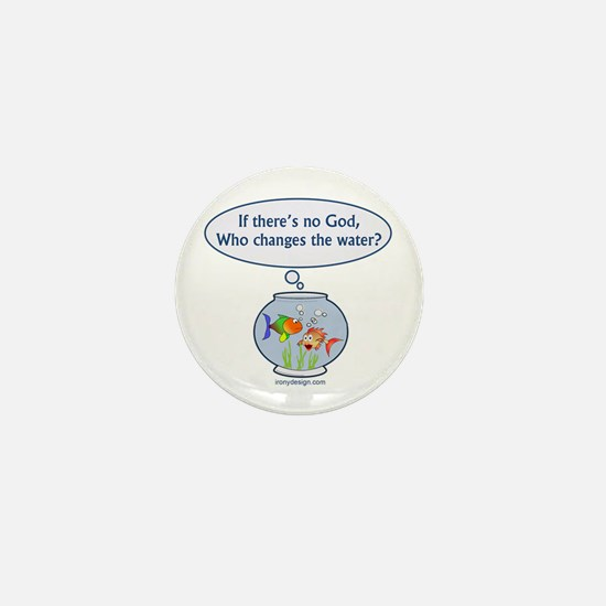 Is There a God? Mini Button (100 pack)