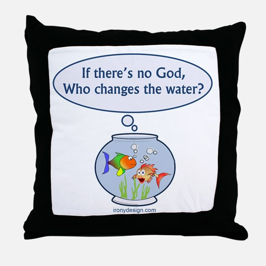 Is There a God? Throw Pillow