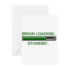 Brain Loading.... Greeting Card