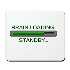 Brain Loading.... Mousepad