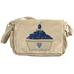 Blueberry Delight Messenger Bag