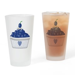Blueberry Delight Drinking Glass