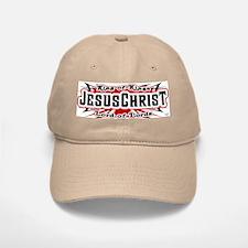 Jesus Christ - Pinstripe Baseball Baseball Cap