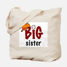 Big Sister - Baseball Tote Bag