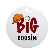 Big Cousin - Baseball Ornament (Round)