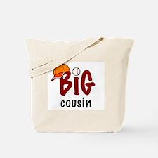 Big Cousin - Baseball Tote Bag