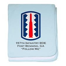 Follow Me baby blanket