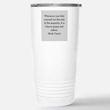 Mark Twain quote Travel Mug