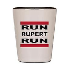 Run Rupert Run! Shot Glass