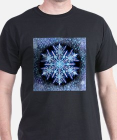 October Snowflake - square T-Shirt