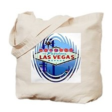 Las Vegas Sign Night Tote Bag