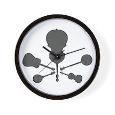 Bluegrass Bones Wall Clock