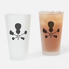 Bluegrass Bones Drinking Glass