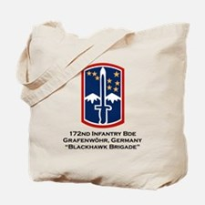 172nd Blackhawk Bde Tote Bag