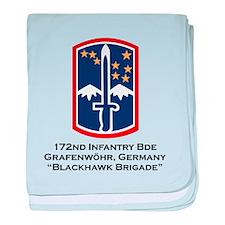 172nd Blackhawk Bde baby blanket