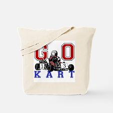 Kids Go Kart Racing Tote Bag