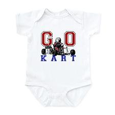 Kids Go Kart Racing Infant Bodysuit