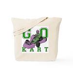 Go Kart Adult Tote Bag